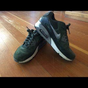 Olive green, Nike air max 90s